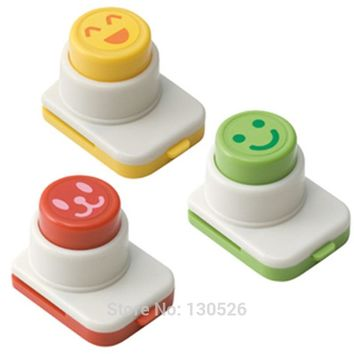 3pcs DIY Cooking Kitchen Gadgets Sushi Tools Smile Nori Accessories Onigiri Molds kawaii Sushi Tools face expression Cutter