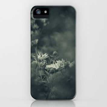 Restlessness Flowers iPhone & iPod Case by Christian Solf