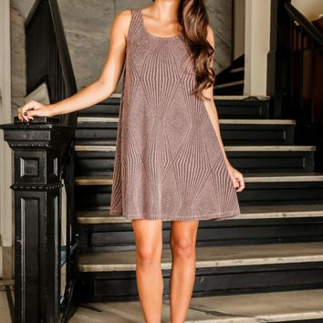 EVERLY: Life of The Party Dress-Mauve