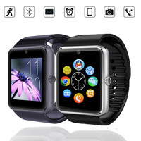 New Smart Watch GT08 Clock Sync Notifier Support Sim Card Bluetooth Connectivity For Apple iphone Android Phone Smartwatch 8991