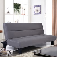 "New Furniture!!  Microfiber Futon Folding Couch Bed 6"" Mattress."
