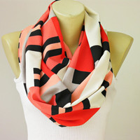 OVERSIZED scarf - infinity scarf ,circle scarf,Loop scarf soft  scarf