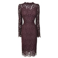 Delicate Lace Pencil Dress