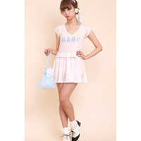 BABY tee one-piece