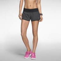 "The Nike 2"" Printed Stretch Woven Rival Women's Running Shorts."