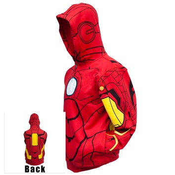 Iron Man - My Iron Suit Costume Zip Hoodie