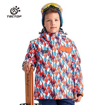 Winter Camouflage Outdoor South Play Child Skiwear Snowboard Clothing Boys Girls Snow Jacket Kids Skiing And Snowboarding Coats