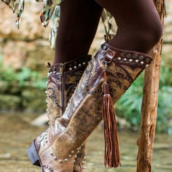 Double D Ranch Ybarra Boots by Old Gringo