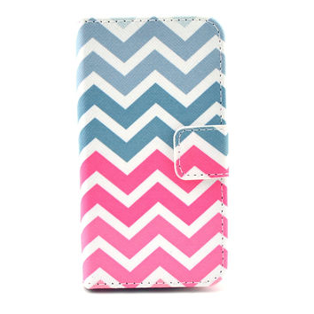Chevron Leather Wallet creative case Cover
