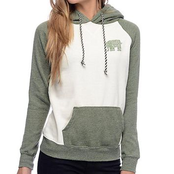 DCCKL72 The elephant stamp mosaic Hoodie female