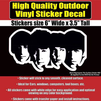 Beatles Band Car Truck Laptop Vinyl Bumper Sticker Decal