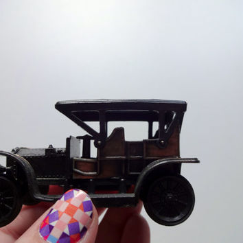 Vintage Die Cast Metal Rolls Royce Pencil Sharpener 1970s