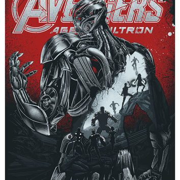 """Avengers: Age of Ultron"" Metallic Variant by JP Valderrama"
