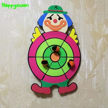 DCCKL3Z Happyxuan Children Sticky Ball Sandbag Throwing Target Plate Game Cartoon Indoor Outdoor Fun Sports Toys