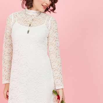 Synchronized Sweetness Lace Dress | Mod Retro Vintage Dresses | ModCloth.com