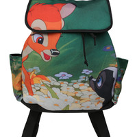 Disney Bambi Meets Flower Slouch Backpack