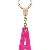 Kate Spade Leather Intial Keychain