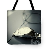 """Watch and spectacle vintage Tote Bag for Sale by Ivy Ho (18"""" x 18"""")"""