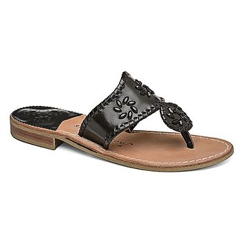 Enchanted Navajo Sandal in Black by Jack Rogers