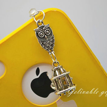 iPhone 5 4S 4 charm35mm dust proof plug with by Gelivablegift
