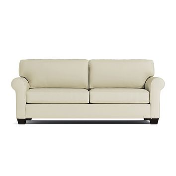 Lafayette Queen Size Sleeper Sofa :: Leg Finish: Espresso / Sleeper Option: Deluxe Innerspring Mattress