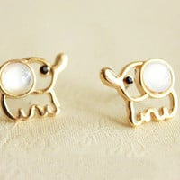 Cute Fashion Elephant Earrings