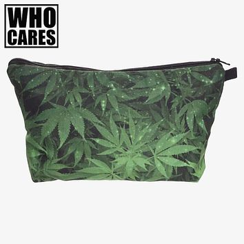 Who Cares Weed Cosmetics Bag