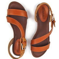 WEB EXCLUSIVE: Firenze Sandals in Brown