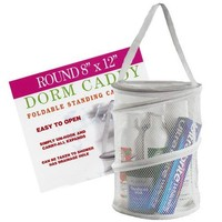 """Dorm Caddy Shower Tote (colors may vary),12""""H x 8"""" diameter"""