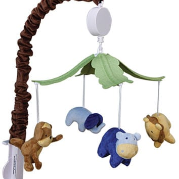 Trend Lab Baby Bedding Jungle 123 Musical Mobile Play Toy
