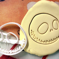 Jack Skellington Cookie Cutter great for cutting Bread, Cheese, Soft fruit and more