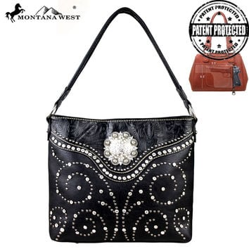 Montana West MW160G-116 Concealed Carry Handbag