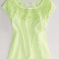 AEO Women's Eyelet Blouse
