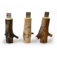 Wooden USB Stick 8Gb