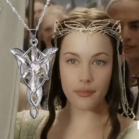 Twilight star, Lord of the rings the hobbit ring fashion necklace.