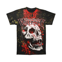 Bullet For My Valentine Men's  Bloodskull T-shirt Black