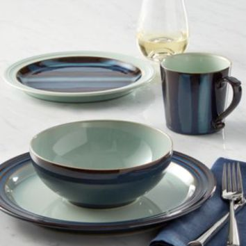 Denby Dinnerware Peveril Collection Stoneware 4-Piece Place Setting - Dinnerware - Dining & Entertaining - Macy's