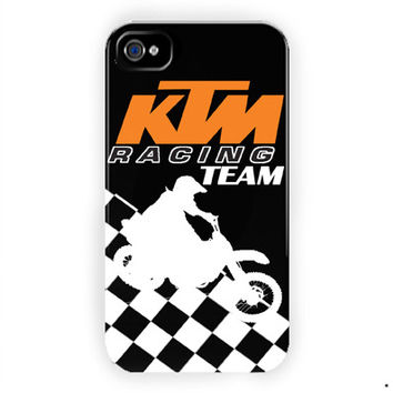 Ktm Racing Team Motorcycles For iPhone 4 / 4S Case