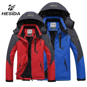 Winter Jackets Men Outdoor Windbreaker Jacket Women Camping Clothes Waterproof Rain Mujer Jaqueta Feminina Chaquetas Hombre Ropa
