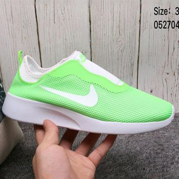 NIKE TANJUNSLIP Women's Pedal Casual Shoes Sneakers F-A36H-MY Green
