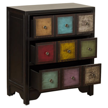 Bungalow Rose Jerry 3 Drawer Accent Chest
