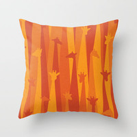 Another Sunny Day Throw Pillow by Oscar Lind Modin