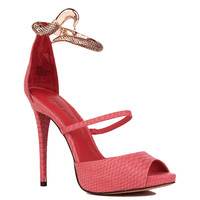 Zigi Buble Heel in Red