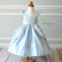 Cinderella Halloween Costume - Cinderella Inspired Dress - Cinderella Birthday Dress - Princess Dress - Elsa Dress
