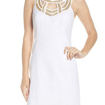 Lilly Pulitzer® Carlton Beaded Silk Dress | Nordstrom