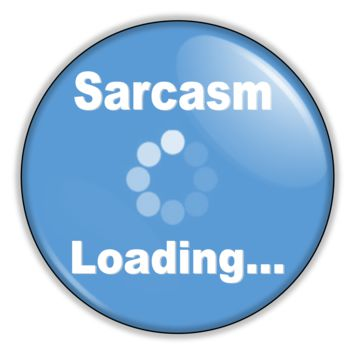 "Funny Button - Sarcasm Loading 2.25"" Button pinback or magnet"