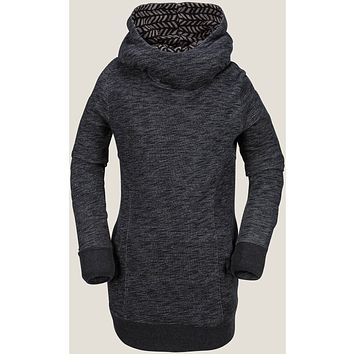 Volcom Tower Women's Pullover - Black