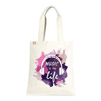 Music is my Life Eco Tote