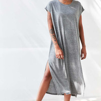 Silence + Noise Side-Slit Muscle Tee Maxi Dress - Urban Outfitters