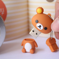 SALE30-70%OFF: 4GB Usb Super Cute Rilakkuma usb Flash Drive 4Gb , Cute Usb Flash Drive , Accessories , usb, Kawaii usb
